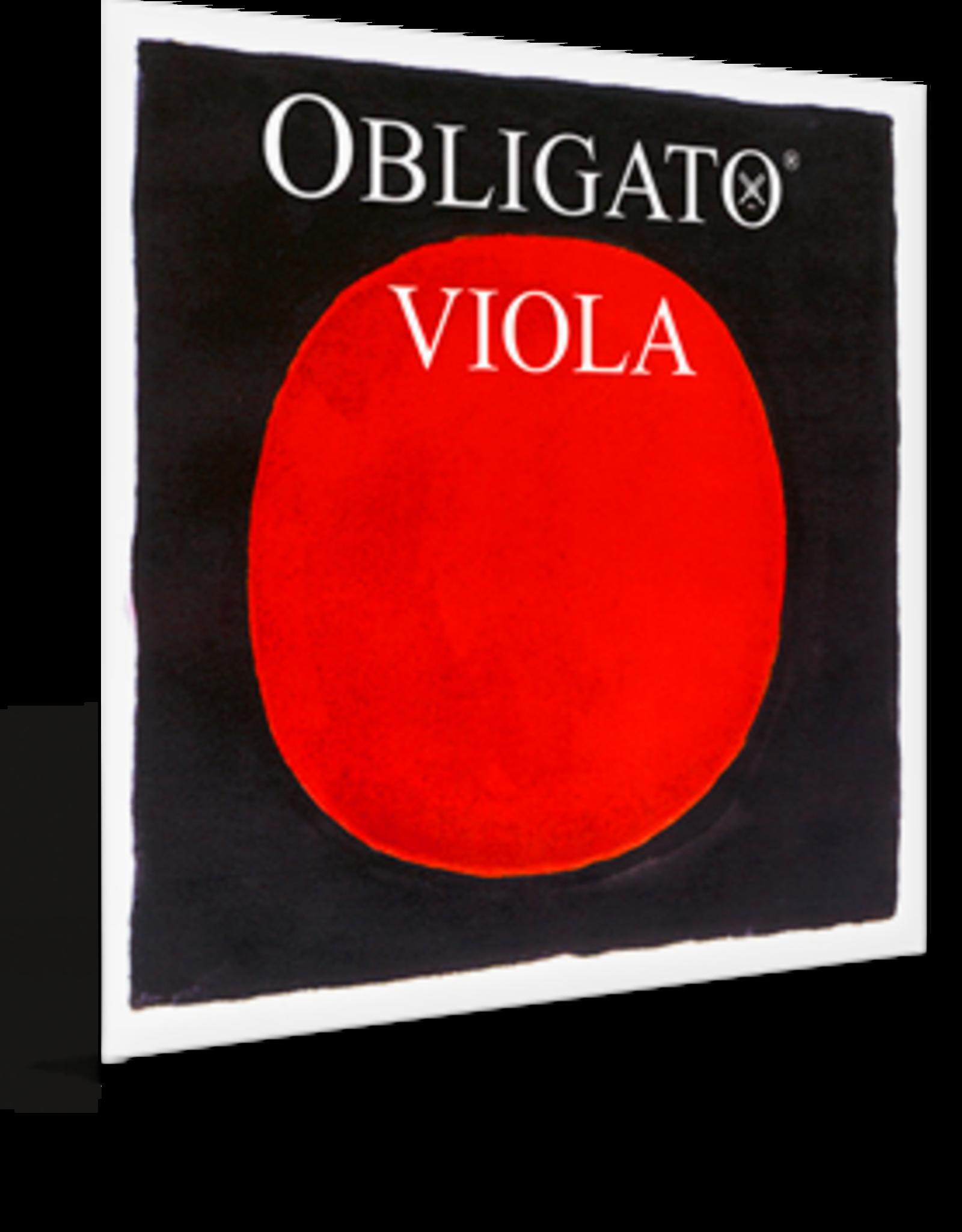 PIRASTRO Viola Obligato A Steel/Aluminum Removable Ball End Mittel Envelope
