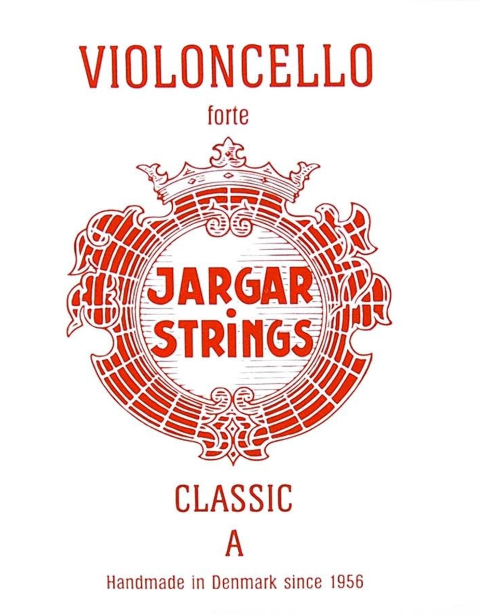 JARGAR cellosnaar, la ( A-1), 4/4 hard, flexi-metal