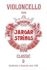 JARGAR cellosnaar, re, (D-2), 4/4 hard, flexi-metal