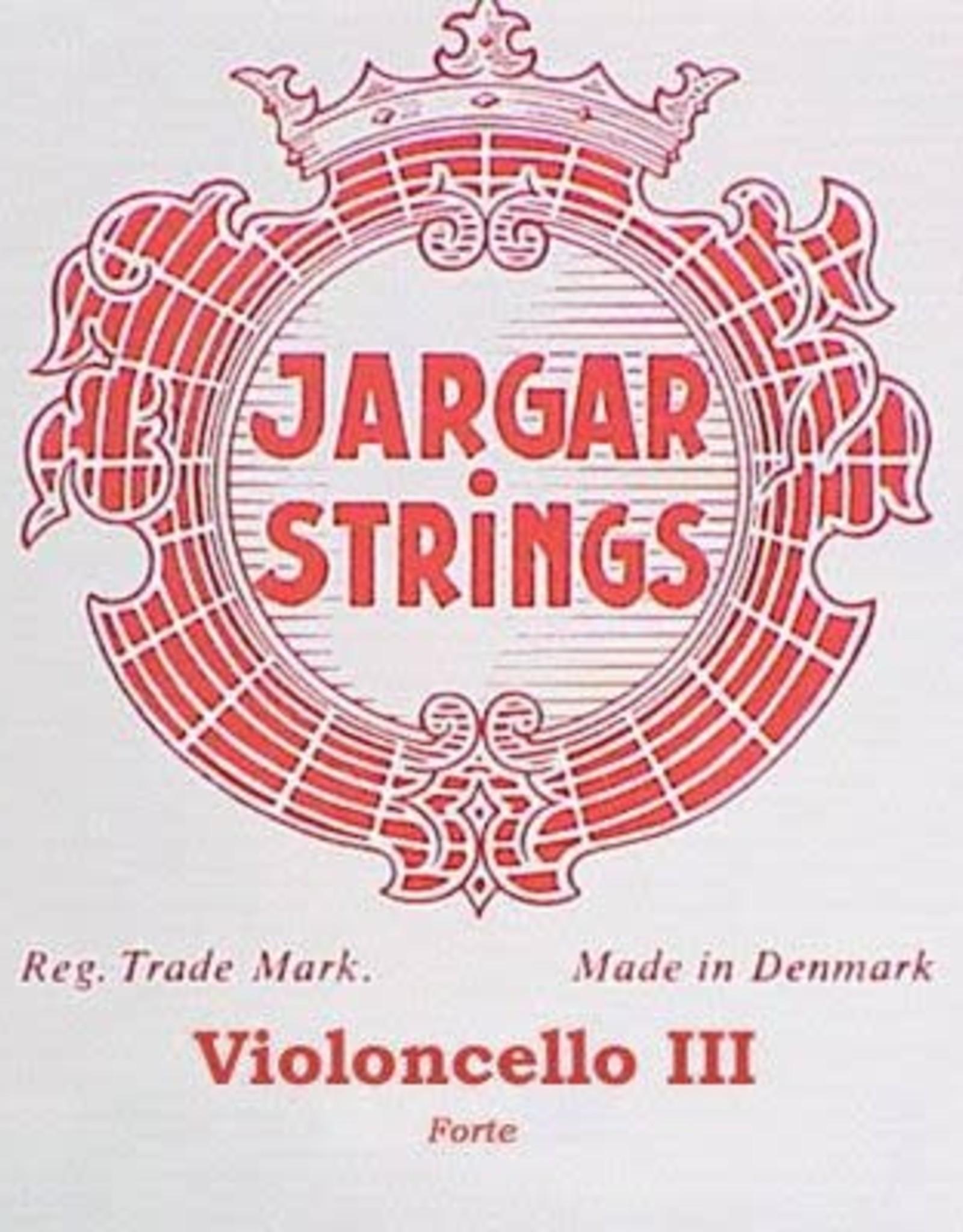 JARGAR cellosnaar, sol (G-3), 4/4 hard, flexi-metal