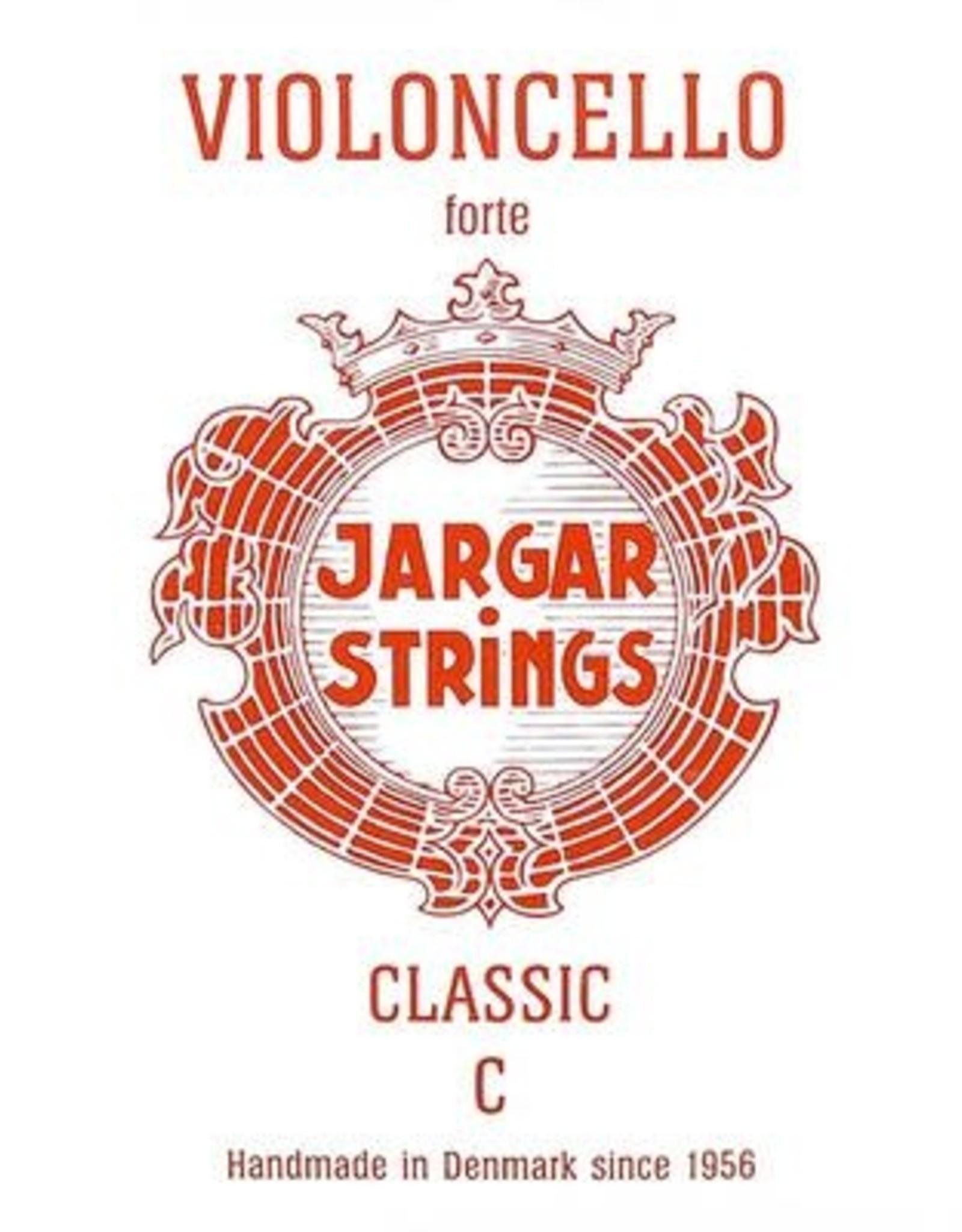 JARGAR cellosnaar, do (C-4), 4/4 hard, flexi-metal