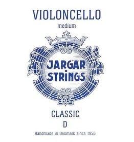 JARGAR cellosnaar, re (D-2), 4/4 classic blue, medium, flexi-metal