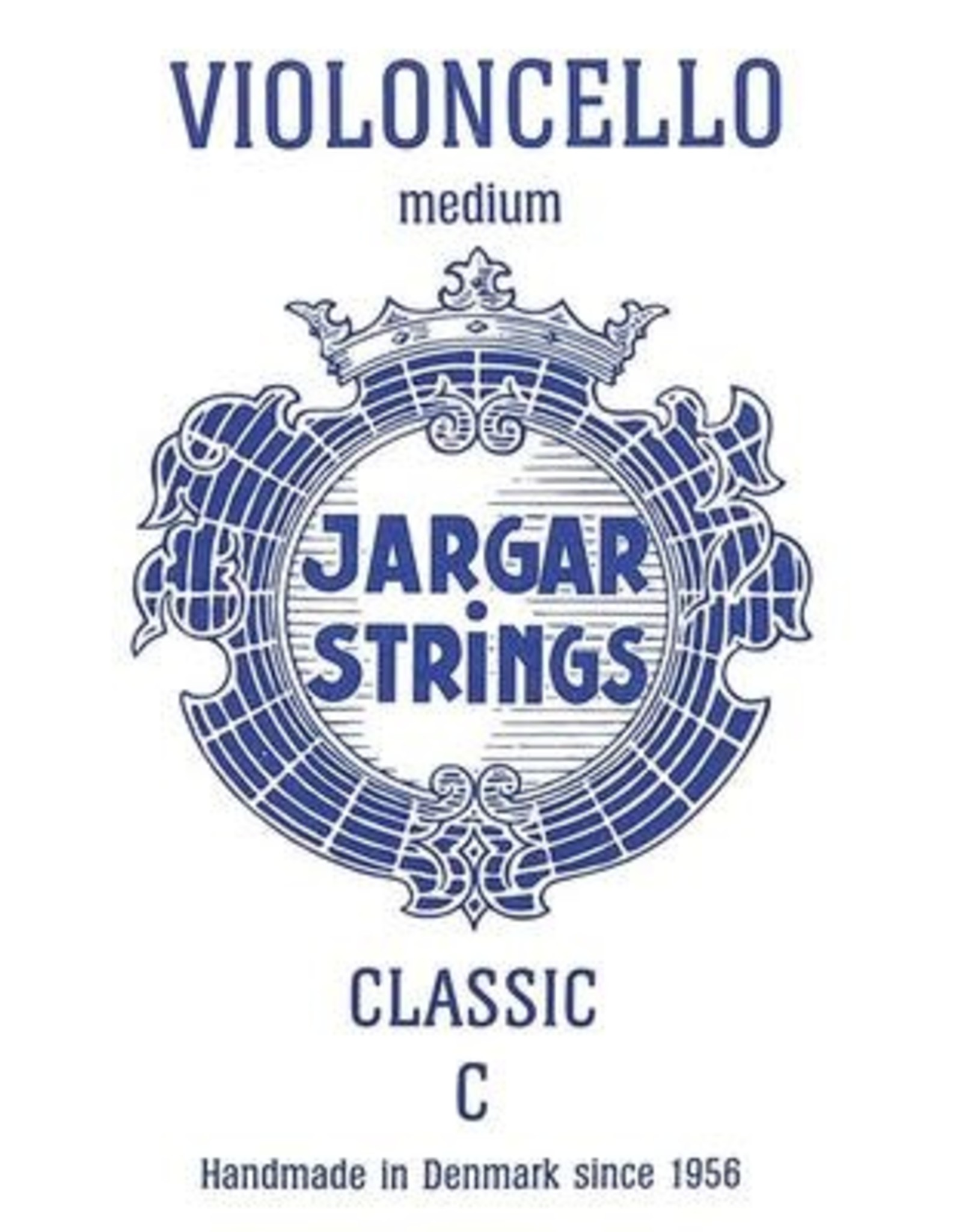 JARGAR cellosnaar, do (C-4), 4/4 medium, flexi-metal