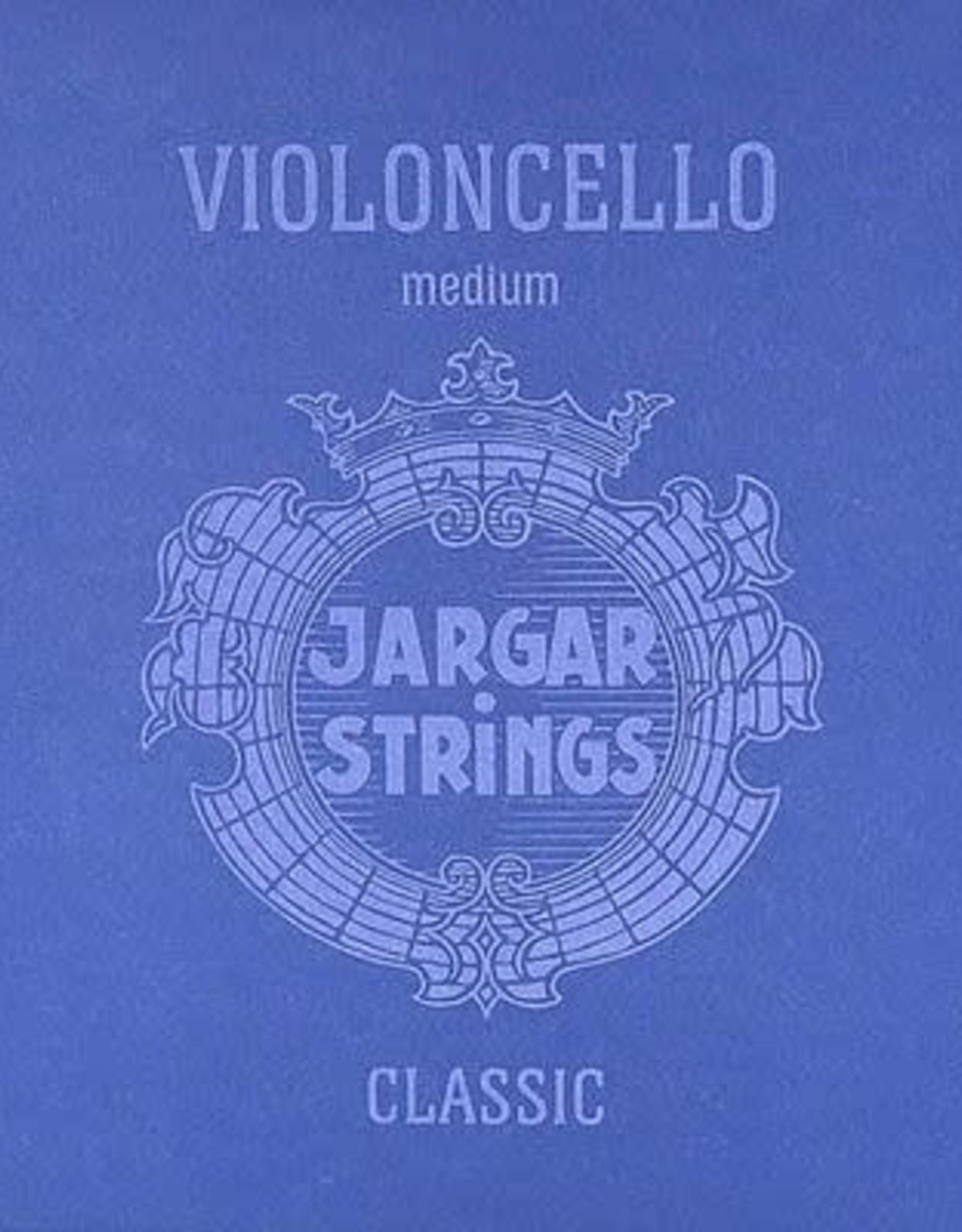 JARGAR snarenset cello, medium, flexi-metal, 4/4