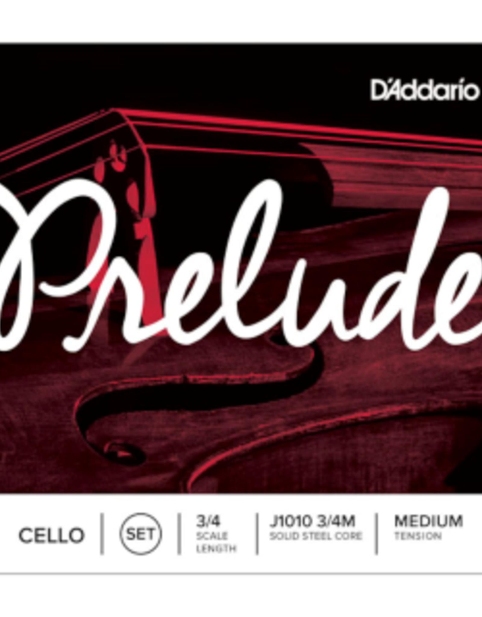 D'ADDARIO Prelude snarenset cello, 3/4