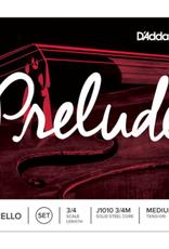 D'ADDARIO Prelude cellosnaar, sol (G-3), 3/4