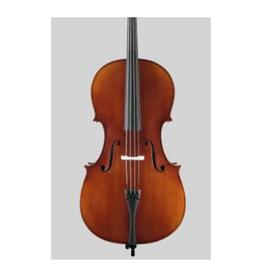 STARTER Sielam Plus Cello 1/2 . Ebben toets en accessoires. Antieke afwerking