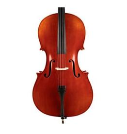 RUTNER Cello set 4/4. geheel massief. olie lak. ebben toebehoren -/ Jargar of Pirastro snaren/ Wittner snarenhouder. Opzet in eigen atelier met aandacht voor kam,kielhout,  stapel en correcte afregeling