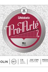 D'ADDARIO Pro Arte vioolsnaar, mi (e-1), 1/8