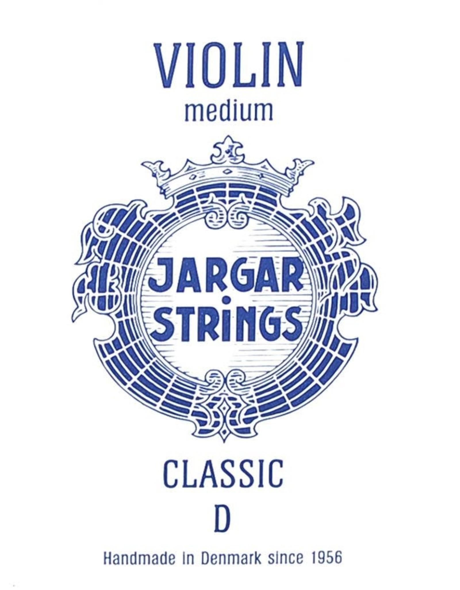 JARGAR Classic Blue  vioolsnaar, re (d-2), 4/4, Medium
