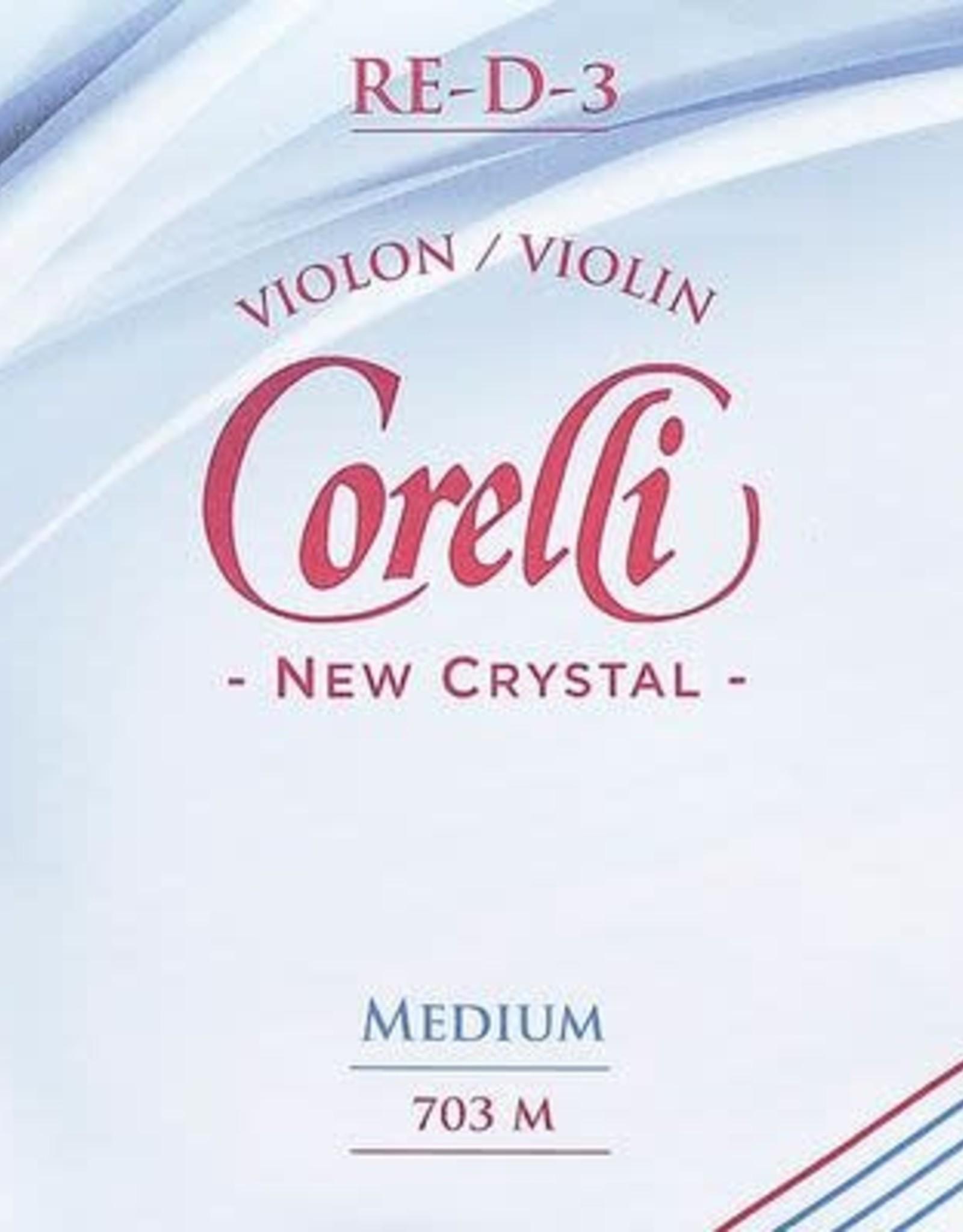 CORELLI new crystal, vioolsnaar, re (d-3), 4/4