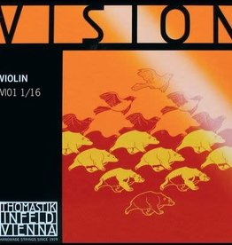 THOMASTIK Vision vioolsnaar, mi (e-1), 1/16