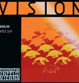 THOMASTIK Vision vioolsnaar, re (d-3), 3/4