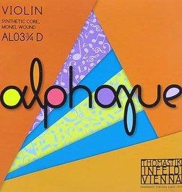 THOMASTIK Alphayue vioolsnaar, re (d-3 ), 3/4
