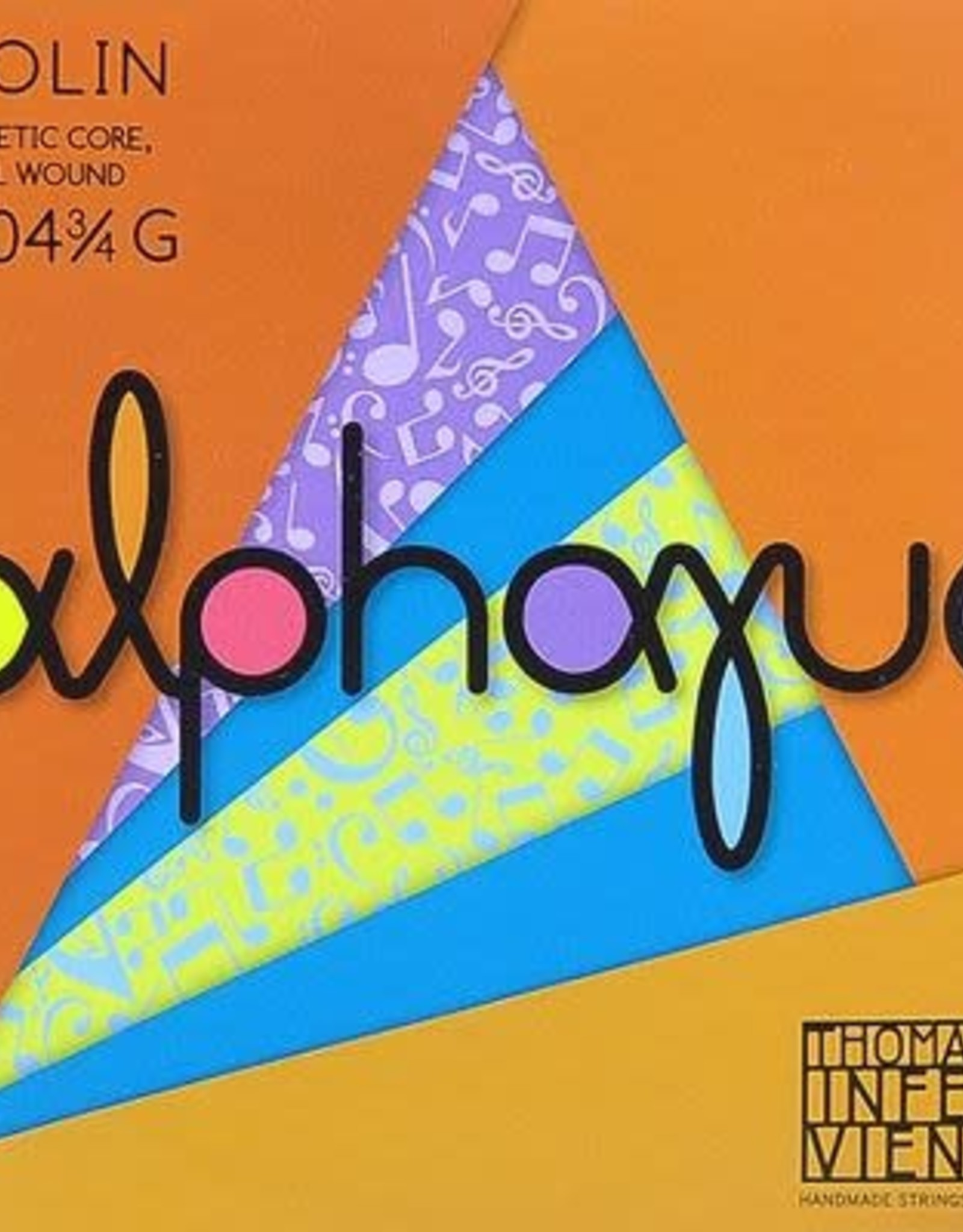 THOMASTIK Alphayue vioolsnaar, sol (g-4),  3/4