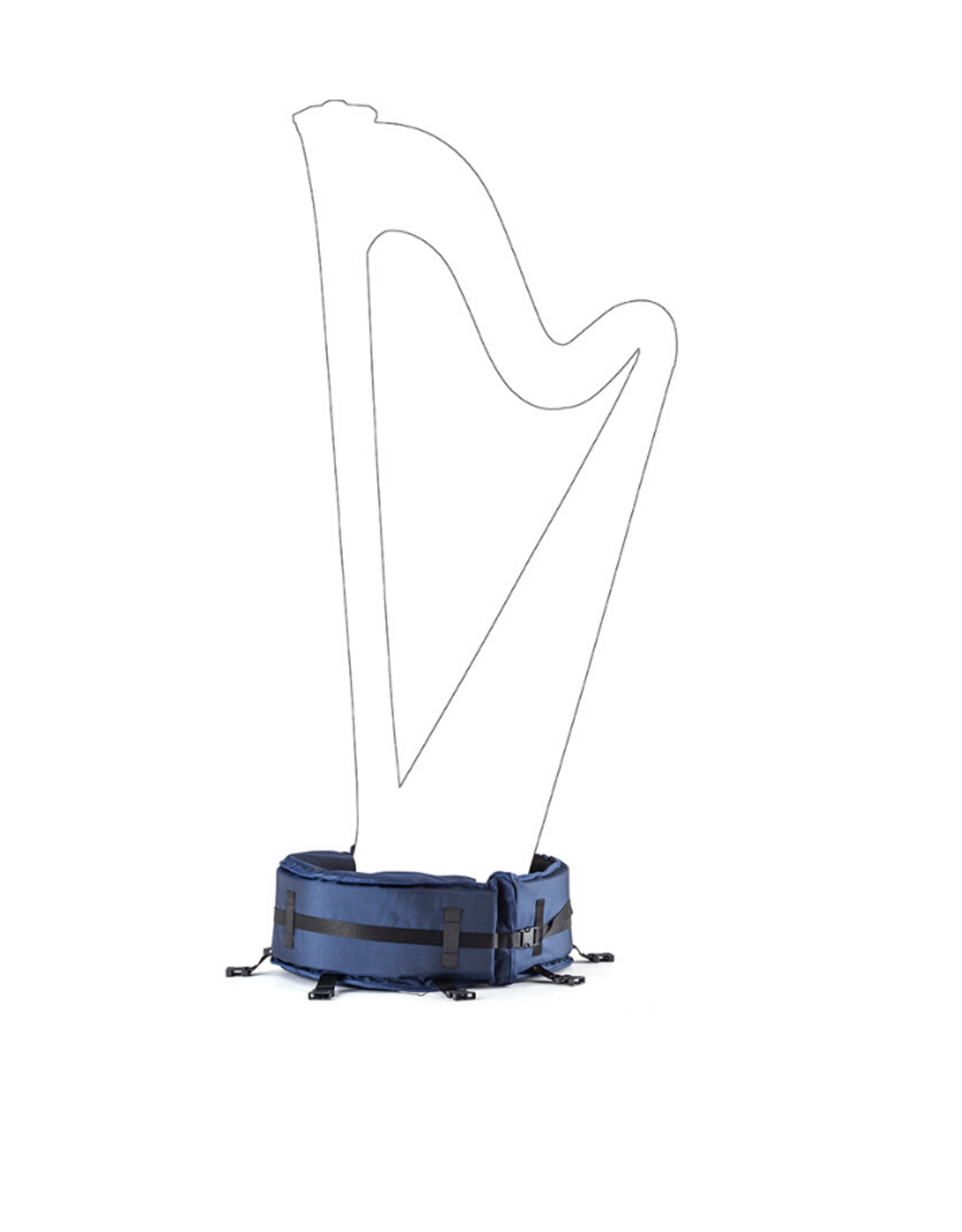 Salvi SALVI transporthoes pedaalharp SG - base