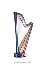 Salvi SALVI Rainbow CG electroacoustic pedaalharp