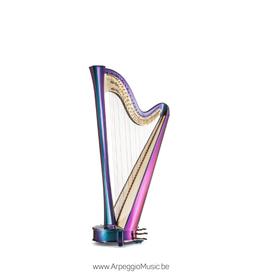 SALVI Rainbow 40 electroacoustic pedaalharp