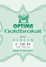 OPTIMA Goldbrokat (Lenzner) 4/4, mi-snaar (e1), ball end, 0,26, medium