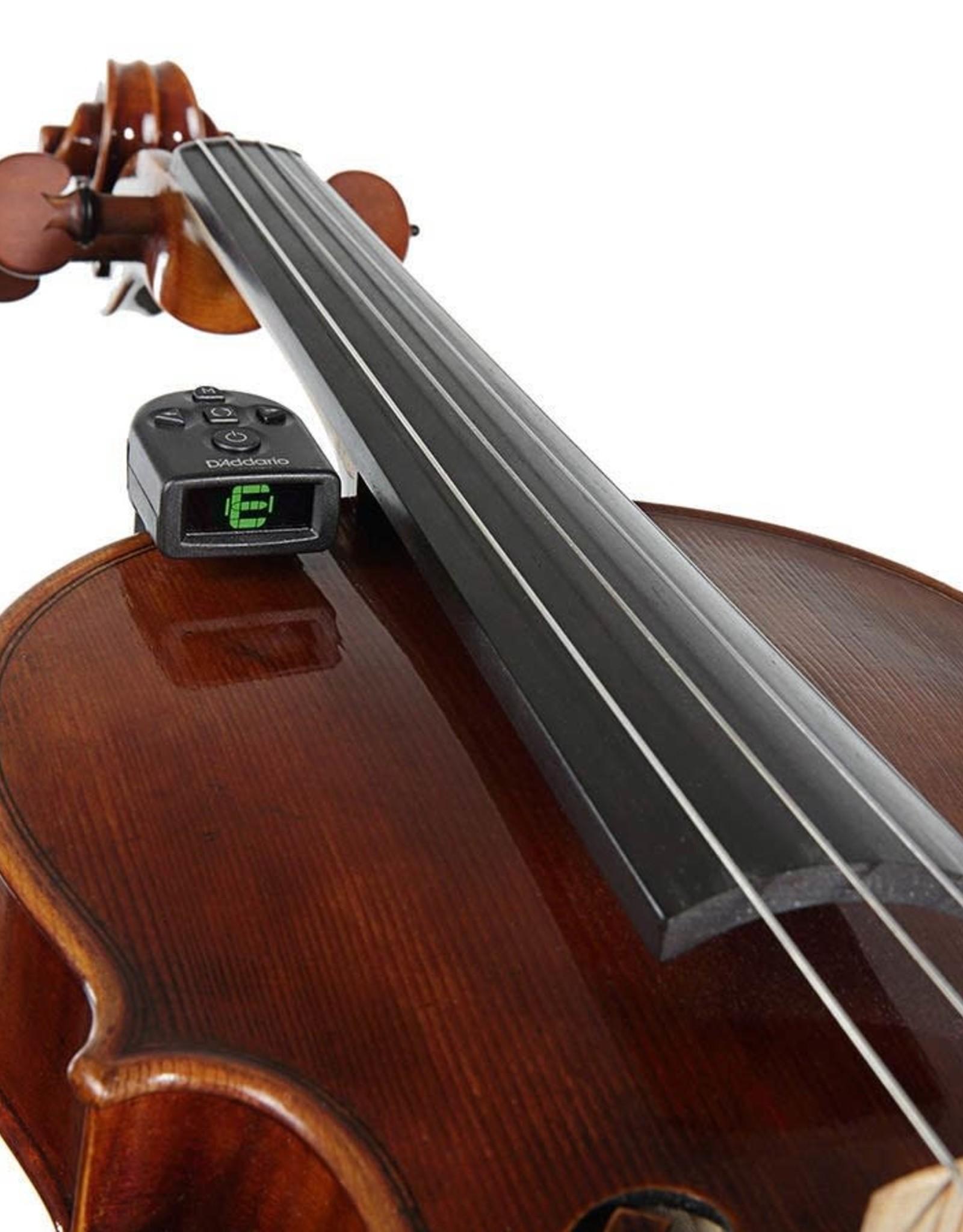 DADDARIO planet waves micro violin/ viola tuner by ns de - art. PW-CT-14