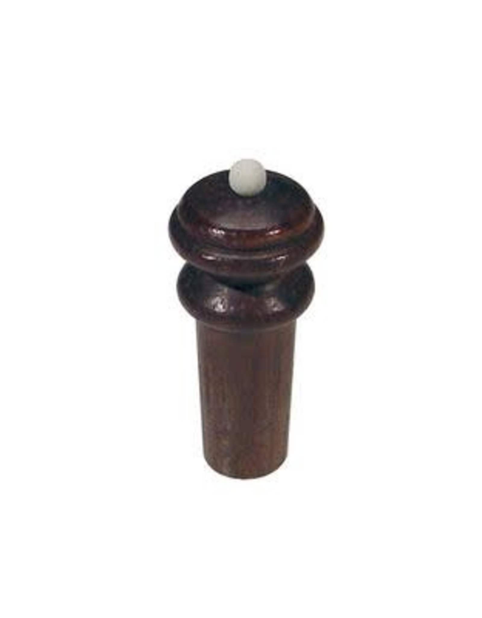 Violin endpin, 4/4-3/4, in rosewood, medium, hill model, with white ba - art. EV-22442RW 7070