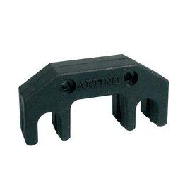 ARTINO hoteldemper voor viool en altviool, metaal, zwart - art. APM-01