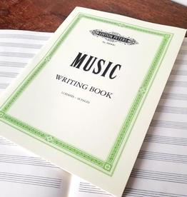 Edition Peters muziekschrift met notenbalken