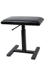 Hydraulische bank/stoel zwart
