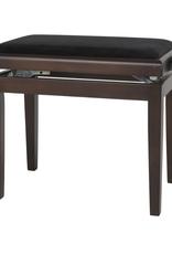 Houten bank/stoel walnoot