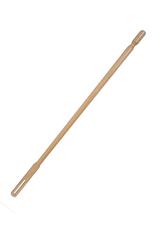 Poetsstaaf dwarsfluit hout WC-660