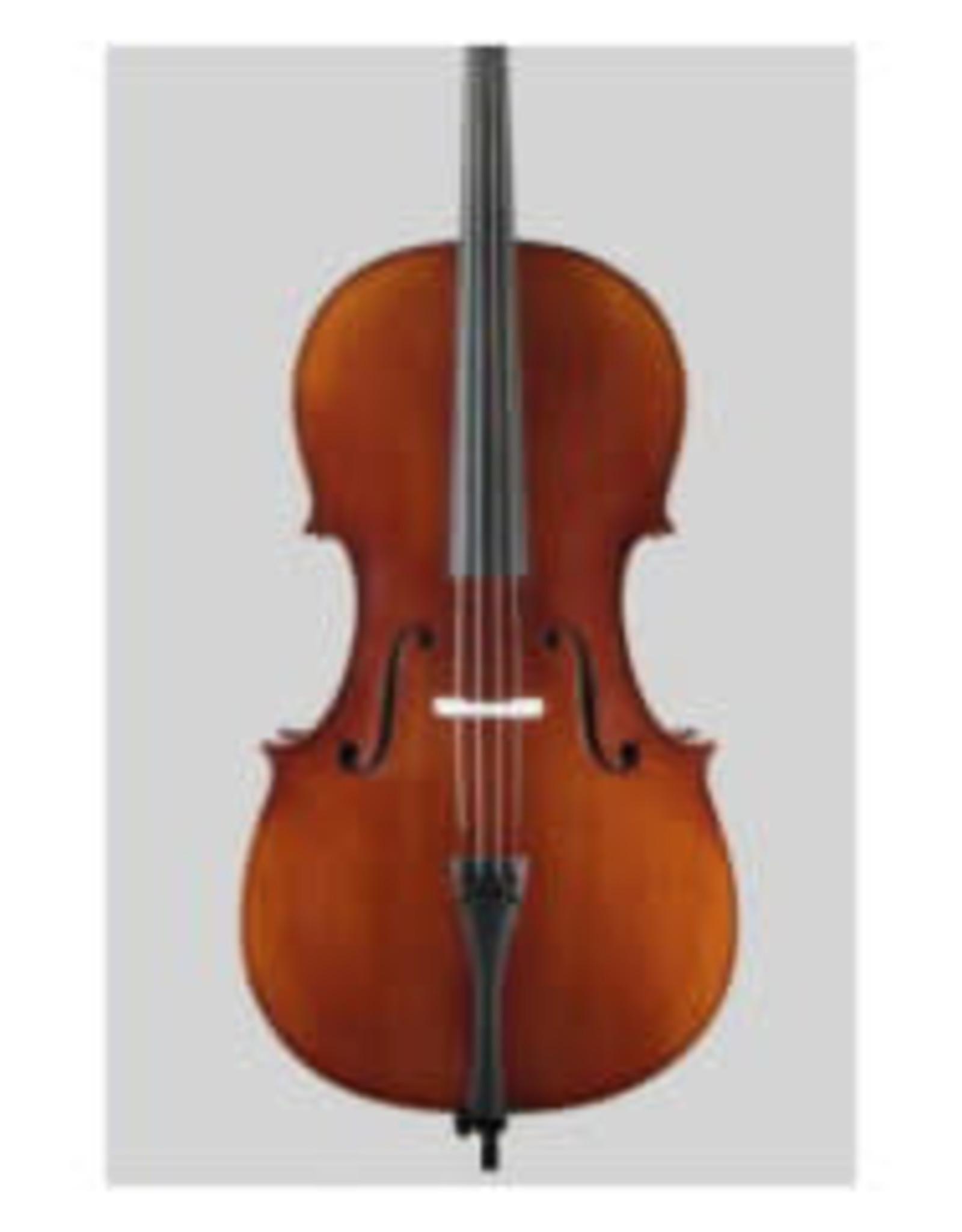 STARTER Sielam Plus Cello 3/4  antique- ebben toets en acc - Opgezet in eigen atelier