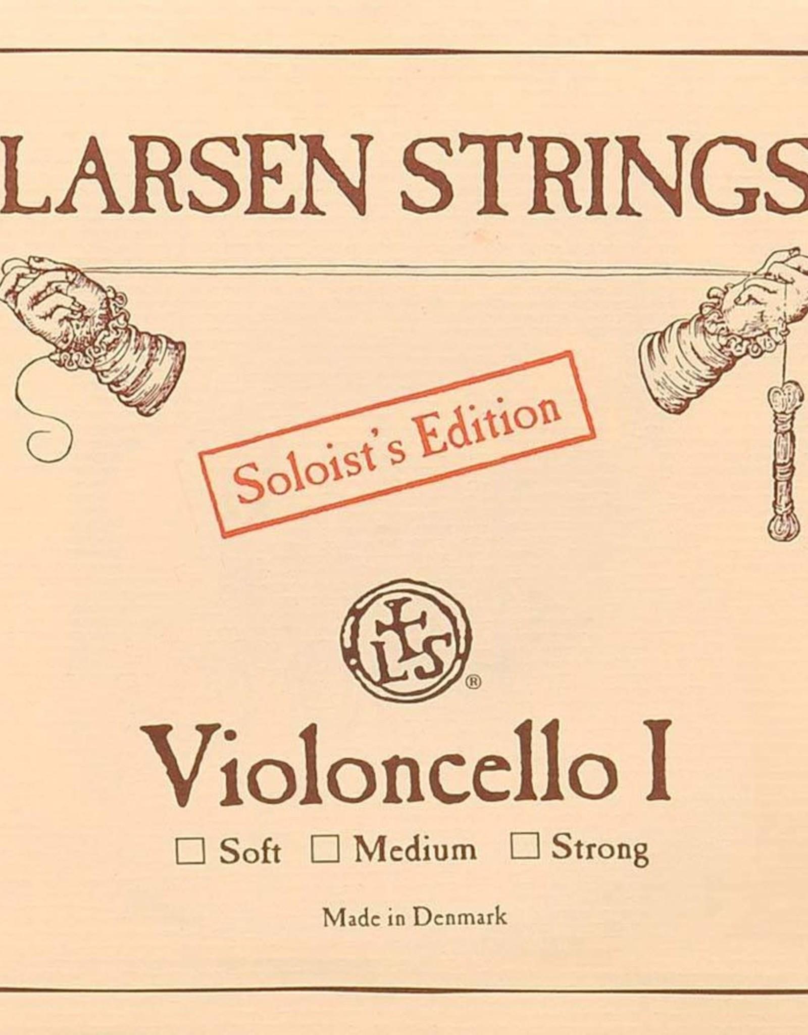 LARSEN cellosnaar, sol (G-3), 4/4, Normal of Soloïst
