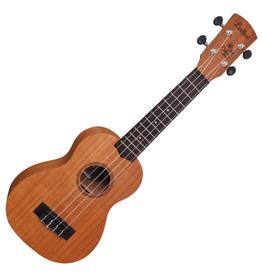 LAKA massief - sopraan ukelele (inclusief tas)