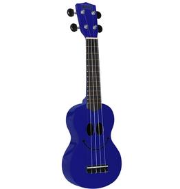 MAHALO ukulele, with bag, smile BLUE