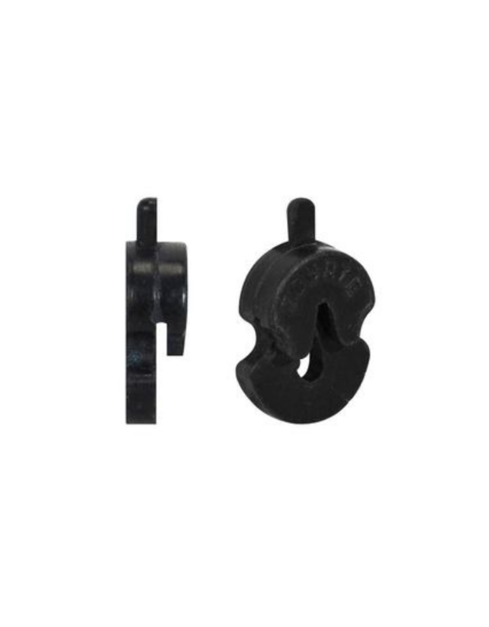 Altviool demper, vioolvormig model, rubber