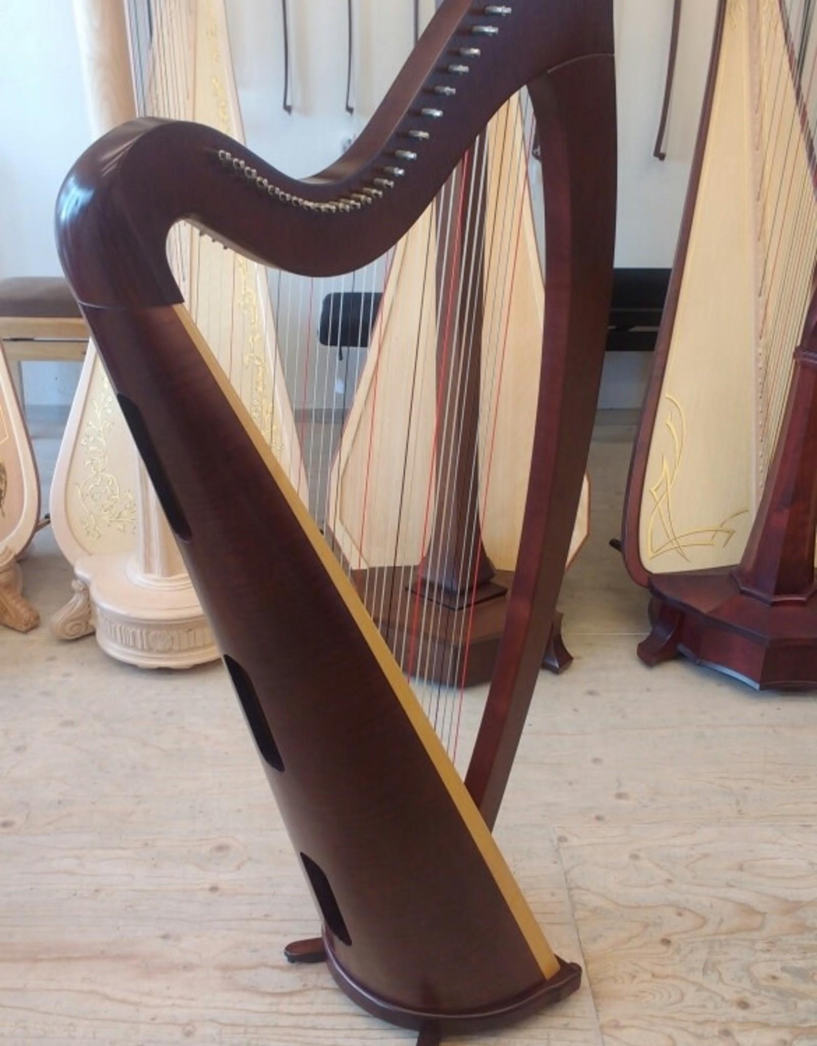 Lyon&Healy LYON&HEALY Ogden Mahogany - tweedehands harp -  prijs op aanvraag
