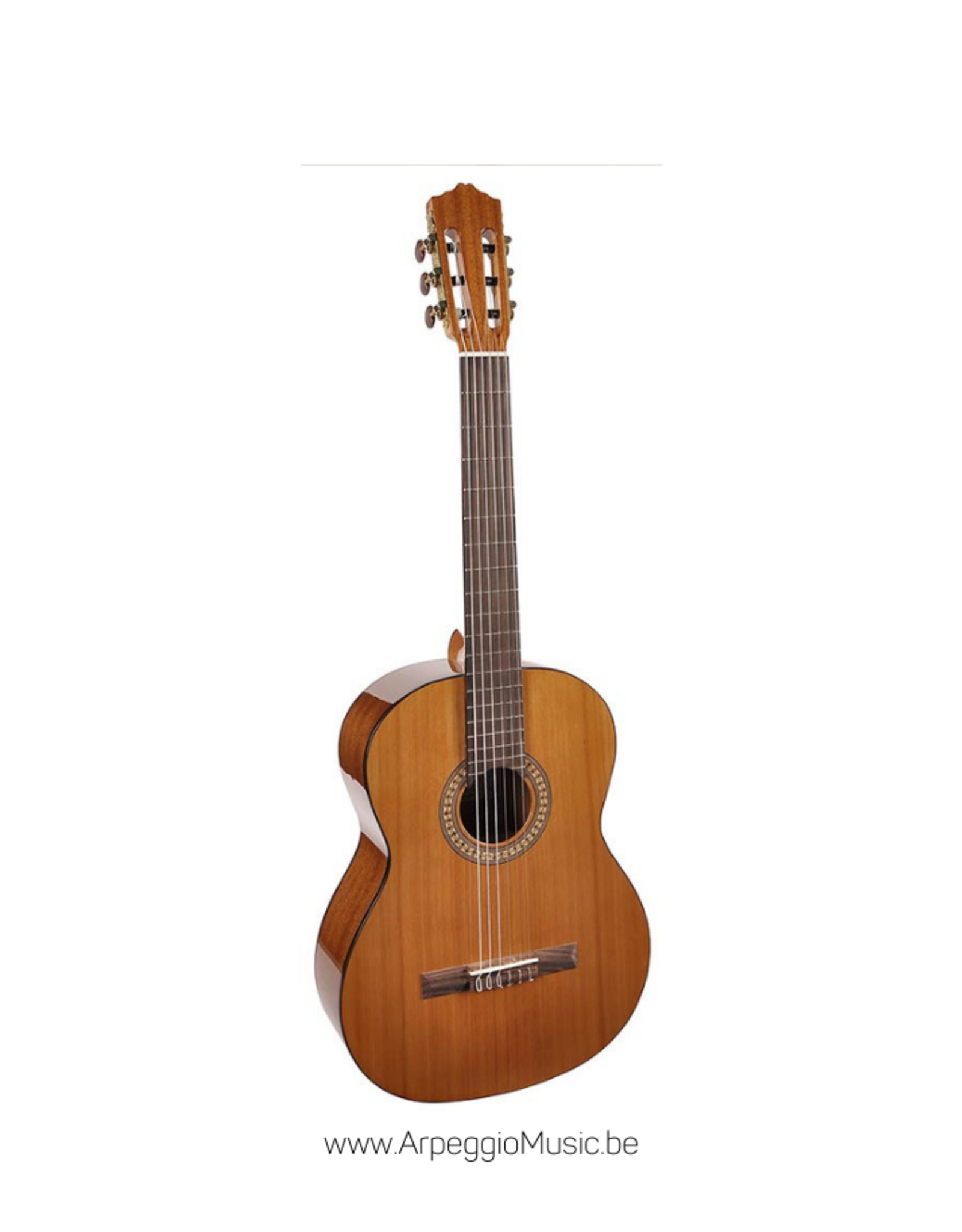 SALVADOR CORTEZ CC-22 Solid Top Artist Series klassieke gitaar, 1/2 bambino