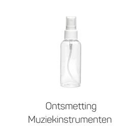 Ontsmettingsvloeistof voor Muziekinstrumenten