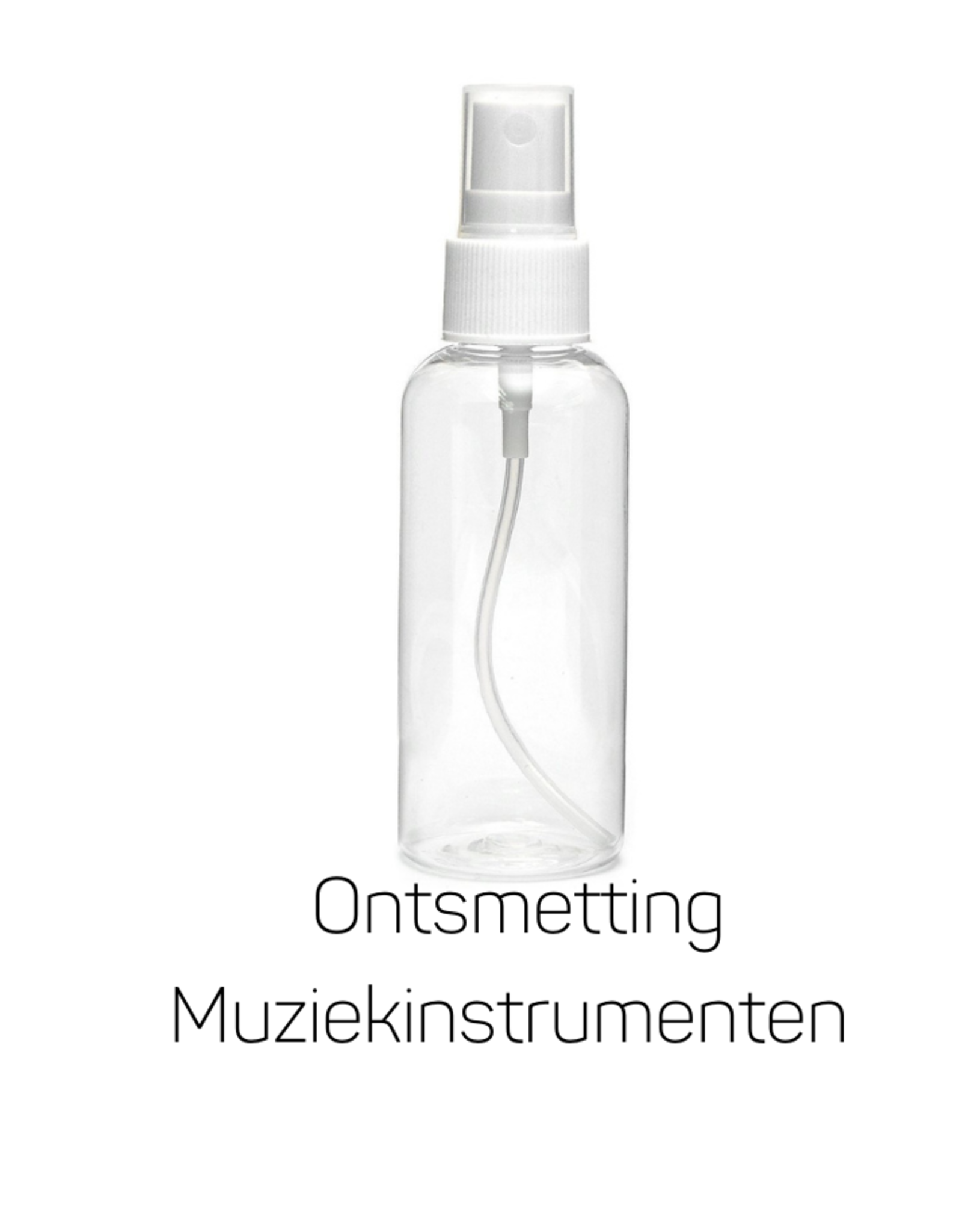 Ontsmettingsvloeistof voor Muziekinstrumenten.  250ml in spray
