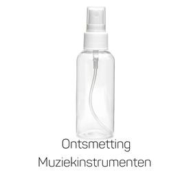 Ontsmettingsvloeistof voor Muziekinstrumenten. Veilig voor alle lakken en vernissen. 250ml