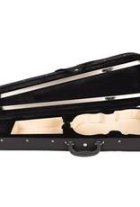 Vioolkoffer Trio, gevormd, zwart (alle maten)