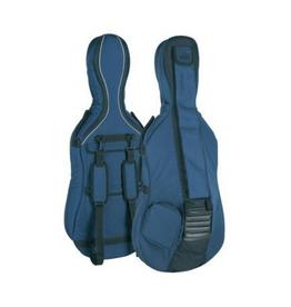 Cellotas in alle maten,  blauwgrijs, 23mm gevoerd, 2 riemen, diverse accessoire vakken