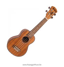 LAKA - sopraan ukelele Mahonie (inclusief tas)