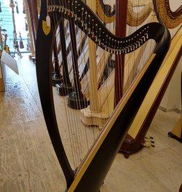 Lyon&Healy LYON&HEALY Ogden Ebony - tweedehands harp - prijs op aanvraag