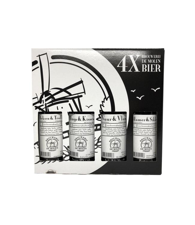 Brouwerij de Molen De Molen Cadeauverpakking 4- Pack