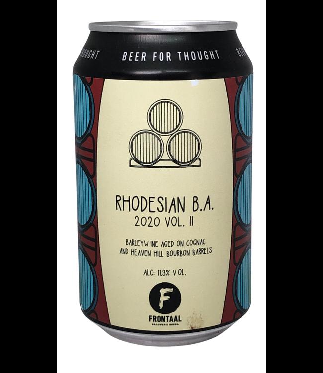 Frontaal Frontaal Rhodesian B.A. 2020 Vol 2