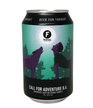 Frontaal Frontaal Call For Adventure B.A 330ml