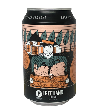 Frontaal Frontaal Freehand 330ml