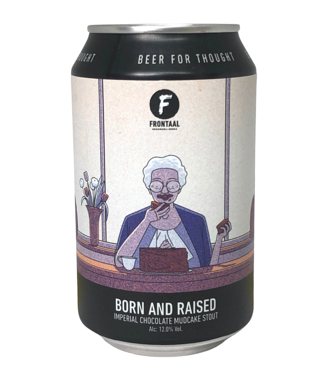 Frontaal Frontaal Born And Raised 330ml