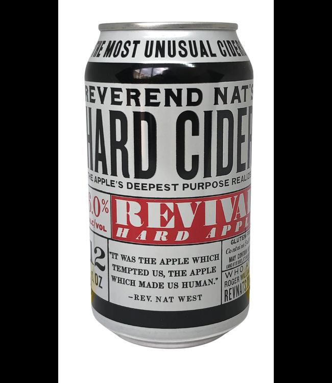 Reverend Nat's Hard Cider Revival Hard Apple